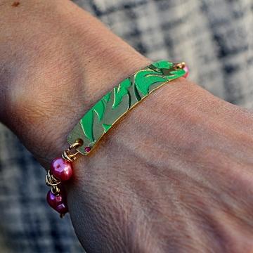 jewelers brass bracelet
