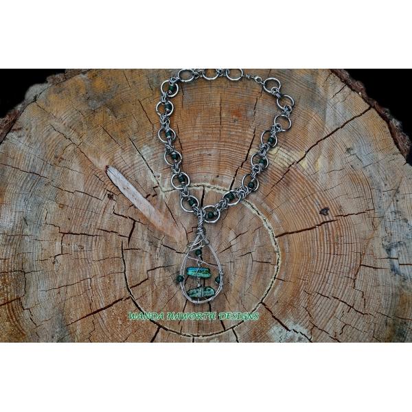 18 inch byzantine necklace