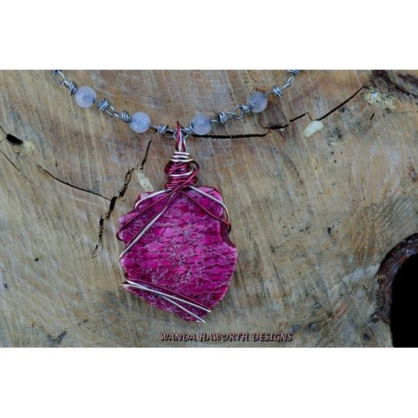 Royal pink jasper