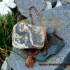 hand cut copper sun filigree