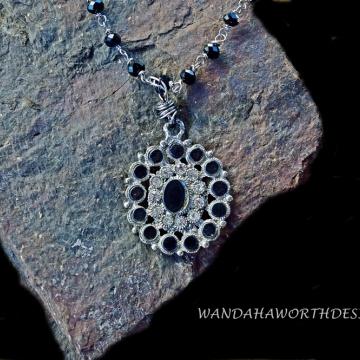 Restored vintage 1920's pendant